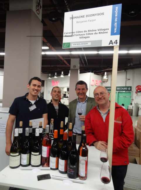Gestan au salon du vin bio gestan afrique for Salon du vin champerret
