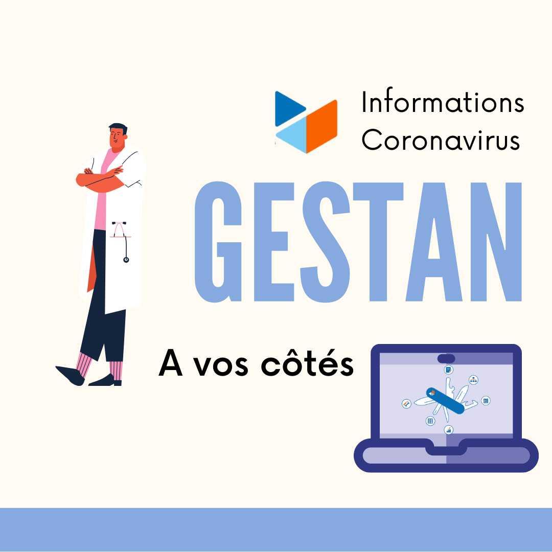 Lettre d'information cornavirus Gestan